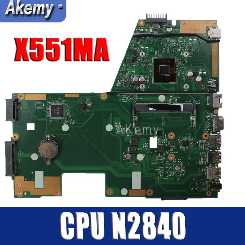 Amazoon  X551MA Laptop motherboard for ASUS X551MA X551M X551 F551MA D550M Test original mainboard 2 Core CPU N2840Amazoon  X551MA Laptop motherboard for ASUS X551MA X551M X551 F551MA D550M Test original mainboard 2 Core CPU N2840
