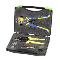 Professional multitool Wire Crimpers Engineering Ratcheting Crimping Pliers Wire Strippers Crimping Tool Cord End Terminals Kit