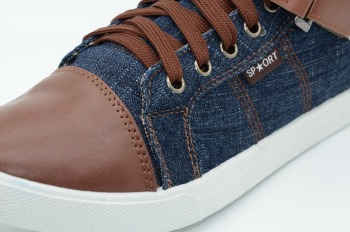 Denim canvas Shoe 1