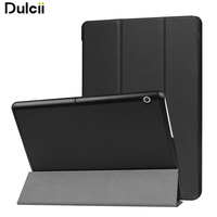 For Huawei MediaPad T3 10 Case Tri Fold Stand PU Leather Flip Case For Huawei MediaPad