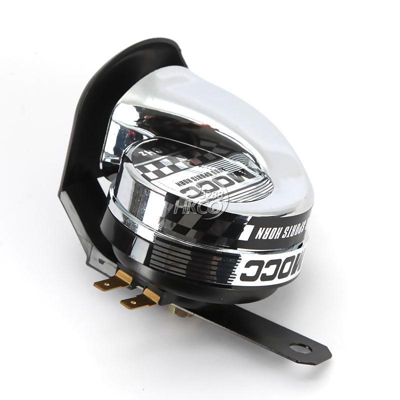 크롬 오토바이 경적 510Hz 스쿠터 오토바이 ATV 고 - 오토바이 액세서리 및 부품