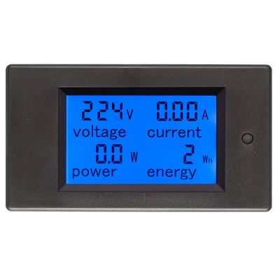 AC Digital Display Multi-function Voltage, Current, Power and Electric Energy Consumption Meter oxygen consumption with cell function and insulin sensitivity