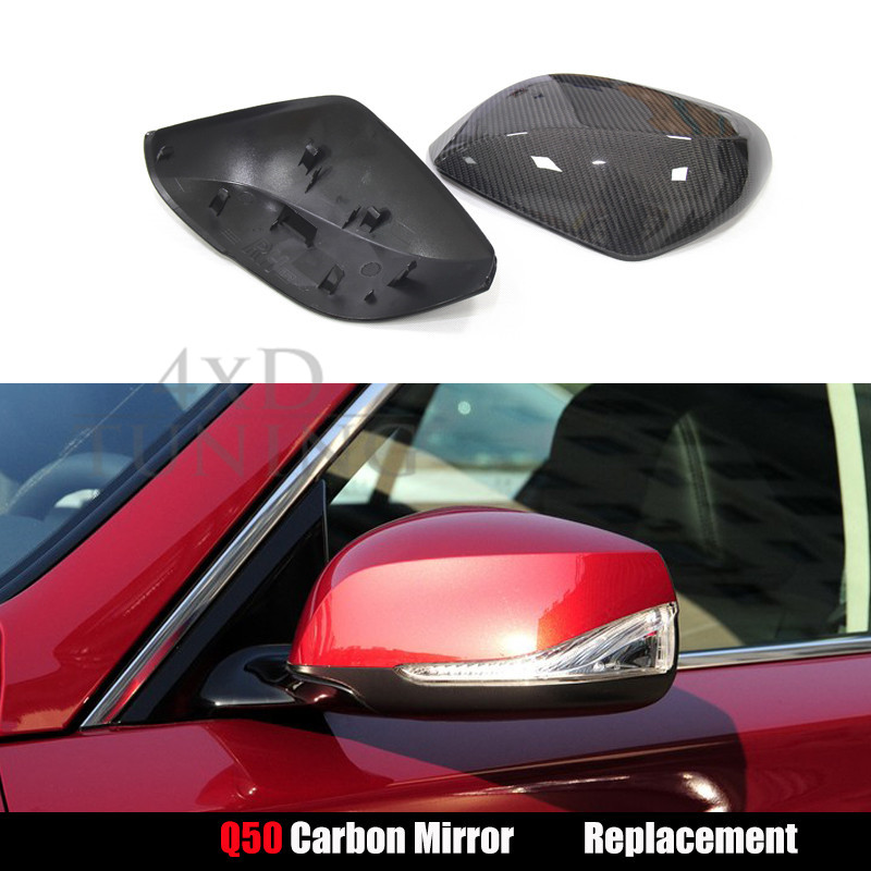 For Infiniti Q50 Q50S Q70 Carbon Mirror Carbon Fiber ...