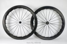 Nova marca 454 700c 58mm dimpled bicicleta de estrada completa fibra carbono aro clincher bicicleta rodado de carbono moonscape ondulado corvo navio livre