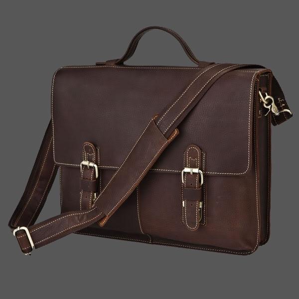 New Arrival Hot-selling classic vintage commercial shoulder bag, men's messenger bag casual cowhide bags, bussiness briefcase