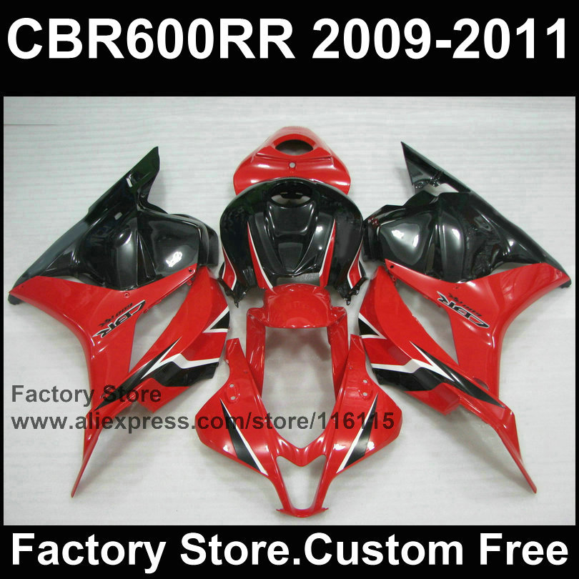 100% Injection motorcycle fairings kit for HONDA F5 CBR 600 RR 2008 2009 2010 2011 red black fairing body parts cbr600rr  08-12 motorcycle winshield windscreen for honda cbr600rr f5 cbr 600 cbr600 rr f5 2007 2008 2009 2010 2011 2012