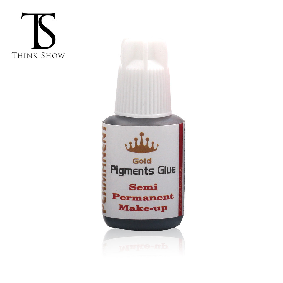 Pigments Glue for eyelash extension glue fast drying 10g/10ml Semi Permanent Make-up Glue