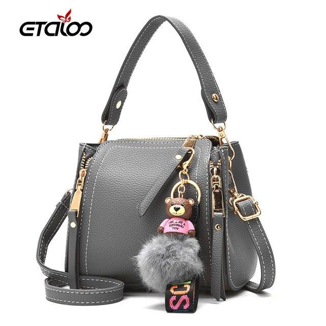 41d9bbb5e6e5 New handbags shoulder bag bucket bag Messenger bag simple and stylish  classic wild tide small handbag