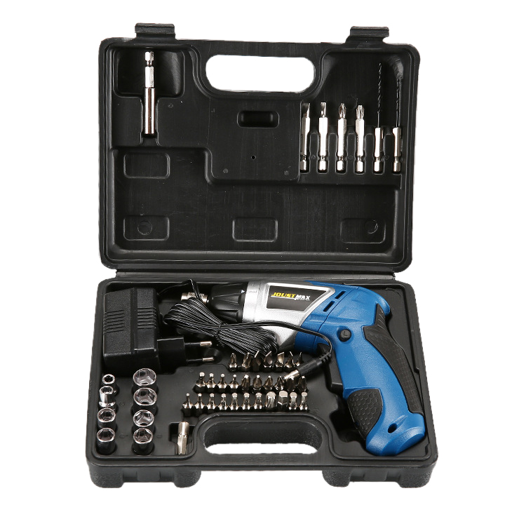 Urijk Rechargeable Lithium Battery Electric Screwdriver Cordless Hand Electric Charging Drill Bit Home Power Tool Set urijk 1set best quality multifunctional electric drill impact drill household electric woodworking hardware hand tool sets