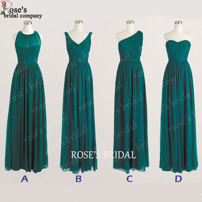 Popular Hunter Green Bridesmaid Dresses Buy Cheap Hunter