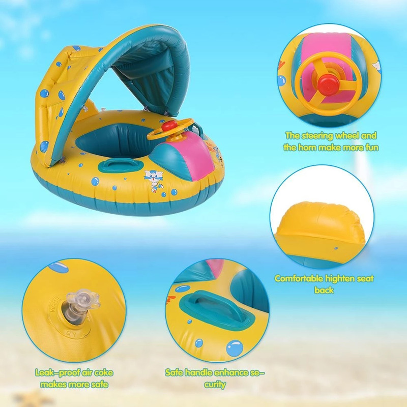 Inflatable Baby Swimming Seat Boat