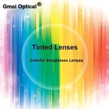 Gmei Optische Strahlung Schutz 1,56 Index Farbige Rezept Linsen HMC EMI Anti UV Optische Getönt Objektiv Für Sonnenbrille