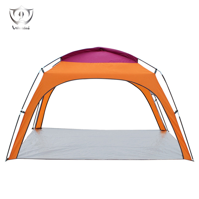 3-4 Persons Double Layer Waterproof Camping Tent Backpacking Hiking Sun Shelter ZS7254