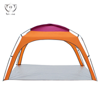 3 4 Persons Double Layer Waterproof Camping Tent Backpacking Hiking Sun Shelter ZS7254