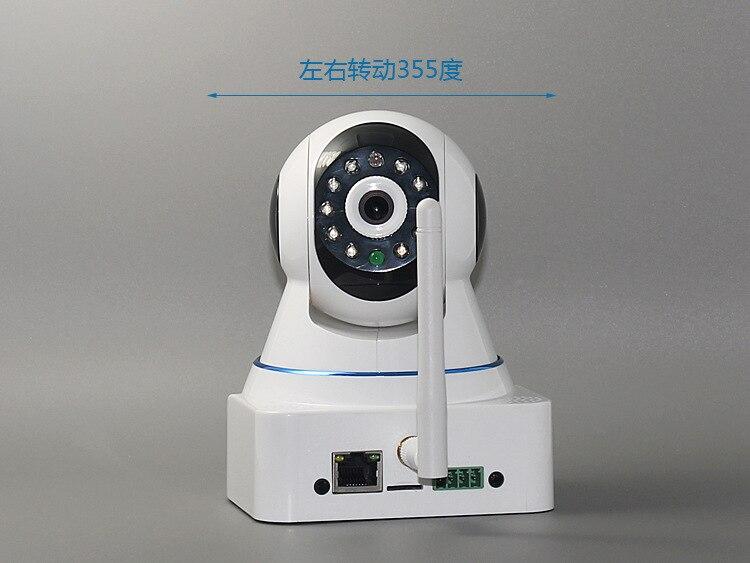 HD Pan-Tilt Network 720P IP wireless CCTV camera Wireless network Camera