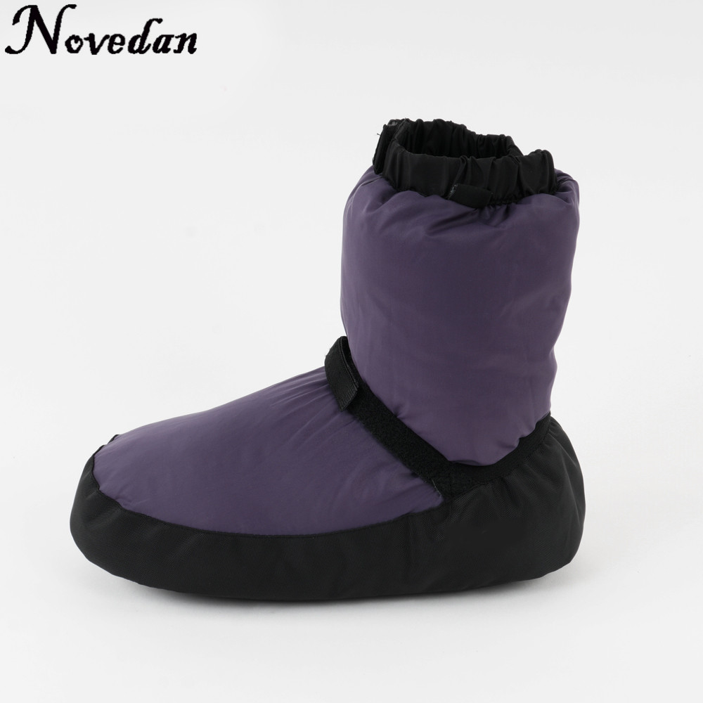Ballet Warm Up Booties Ballerina Women Girls Castle Flo Ballet Point Warm Shoes Ballet Dance Warm-Up Boot