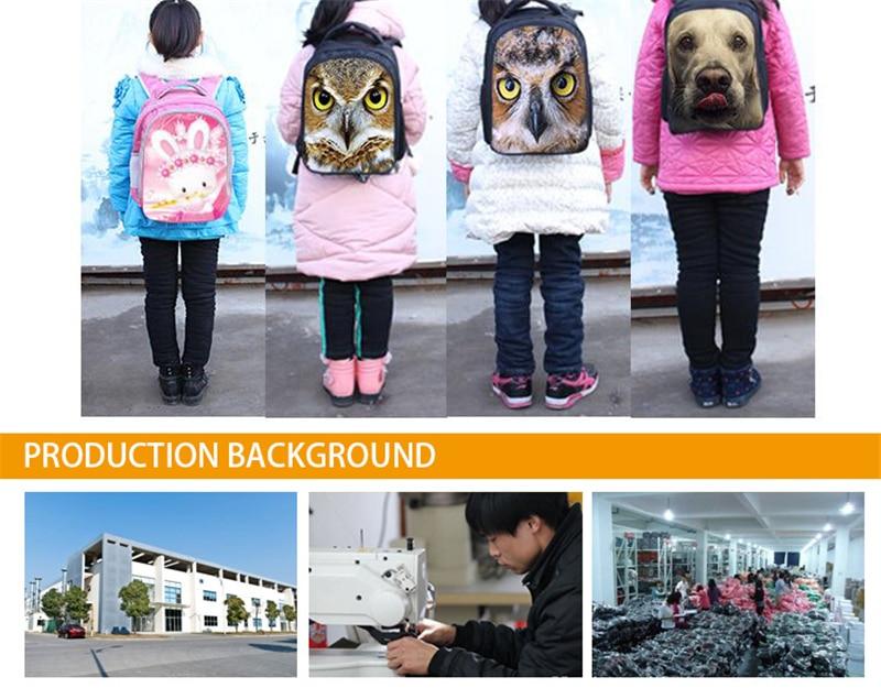lona escola mochilas crianças saco do jardim infância bookbag