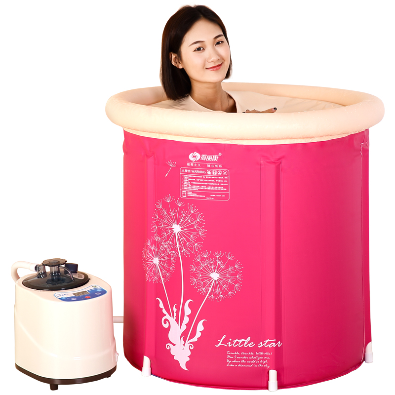 Steam Box Skin SPA Portable Steam Sauna Tent Steamer Slim Weight Loss Indoor Health Care  Spa Tubs & Sauna Rooms 220V