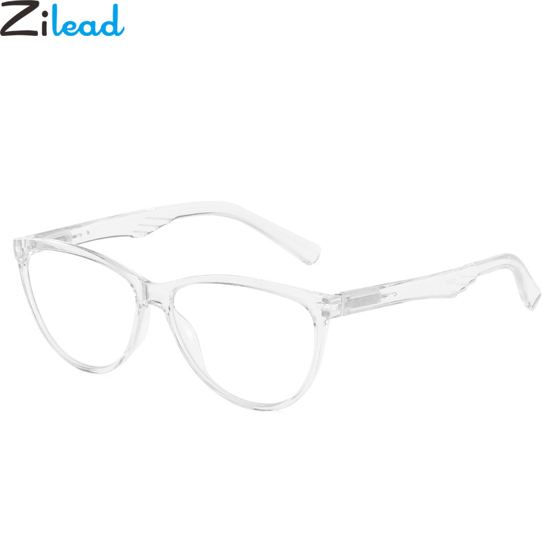 Zilead Black TR90 Big Frame Reading Glasses Angel Wings Leg HD Clear Lens Presbyopic Glasses Eyewear For Women&Men