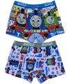 4 peças/pacote crianças / crianças / meninos cuecas / calcinhas dos desenhos animados cantos underwear / carros Thomas roupa interior de algodão
