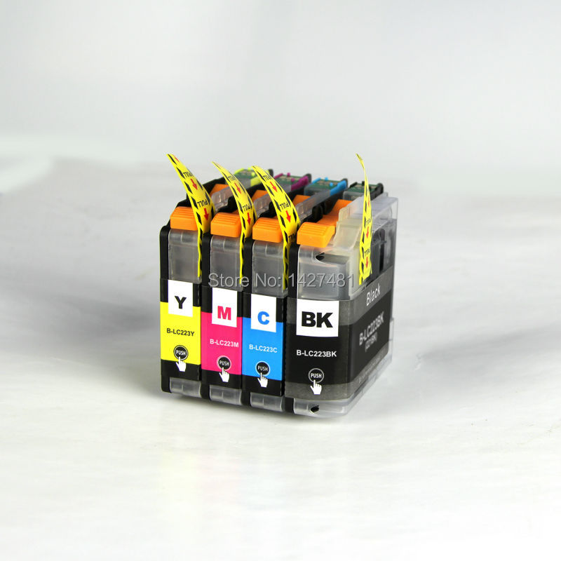 YOTAT LC223 ink cartridge LC 223 LC223XL For Brother DCP-J562DW DCP-J4120DW MFC-J480DW MFC-J680DW MFC-J880DW MFC-J4620DW yotat 4pcs refillable ink cartridge lc223 for brother dcp 4120dw mfc j4420dw mfc j4620dw mfc j4625dw mfc j480dw mfc j680dw