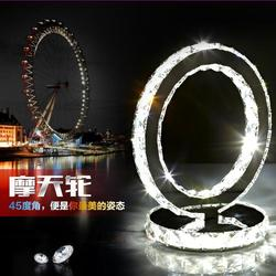 Modern led lighting bedside cabinet table lamp stainless steel crystal led desk lamp dia 20cm 85.jpg 250x250