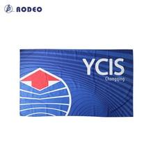 TW010 Родео Сублимация спорт, плавать, сухой подходят полотенца индивидуальный дизайн полный размер OEM логотипы, имя номера