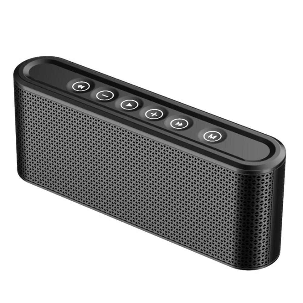 Ehrlich 8000 Mah Luxus Upgrade Bluetooth Lautsprecher Touch-taste Drahtlose Subwoofer Hifi Sound Boombox Duble Lautsprecher Für Power Bank