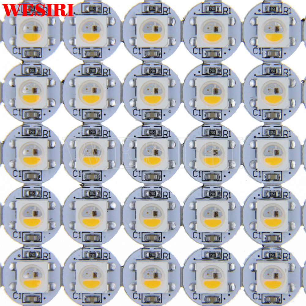 Rgbw Addressable Led Pixel Chips Matrix On Heat Sink Pcb Board For Arduino Diy Dc5v Curing Cough And Facilitating Expectoration And Relieving Hoarseness Responsible 10~1000pcs Sk6812 Similar To Ws2812b