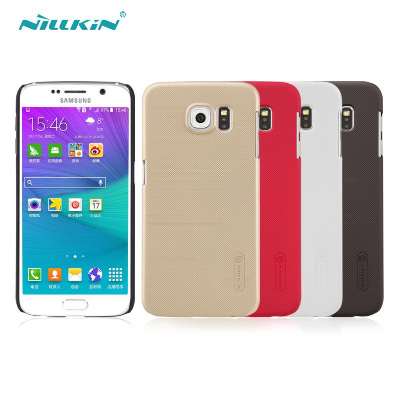 sFor Samsung Galaxy S6 Case Nillkin Frosted Shield Hard Back Cover Case For Samsung Galaxy S6 G920F G9200 Gift Scre