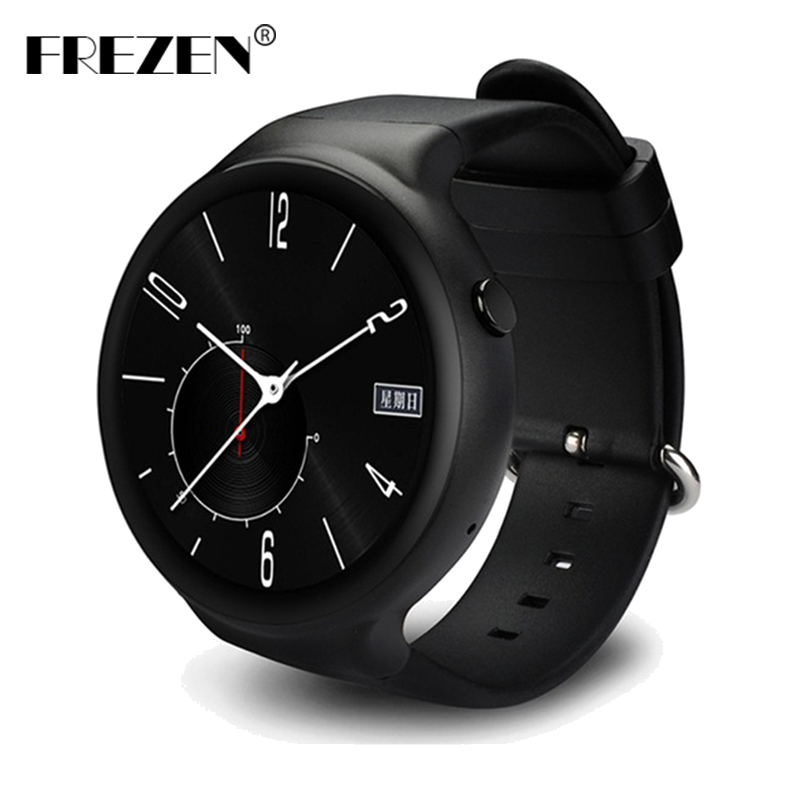FREZEN I4 Smart Watch Android 5.1 1GB+16GB MTK6580 1.39 3G WiFi GPS Heart Rate Monitor Bluetooth SmartWatch for Android PK LES1 no 1 d6 1 63 inch 3g smartwatch phone android 5 1 mtk6580 quad core 1 3ghz 1gb ram gps wifi bluetooth 4 0 heart rate monitoring