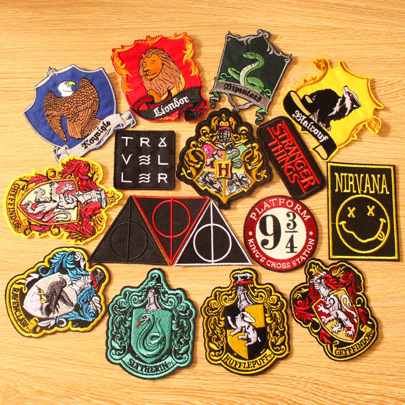 Harry Potter Character Embroidery iron sew on Patch Badge