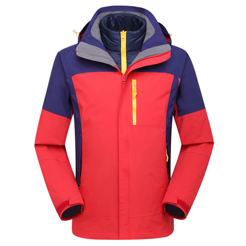 Be A Wolf Hiking Jackets Unisex Softshell Down Jacket Camping Hiking Windbreaker Waterproof Winter Jacket Coat 1607