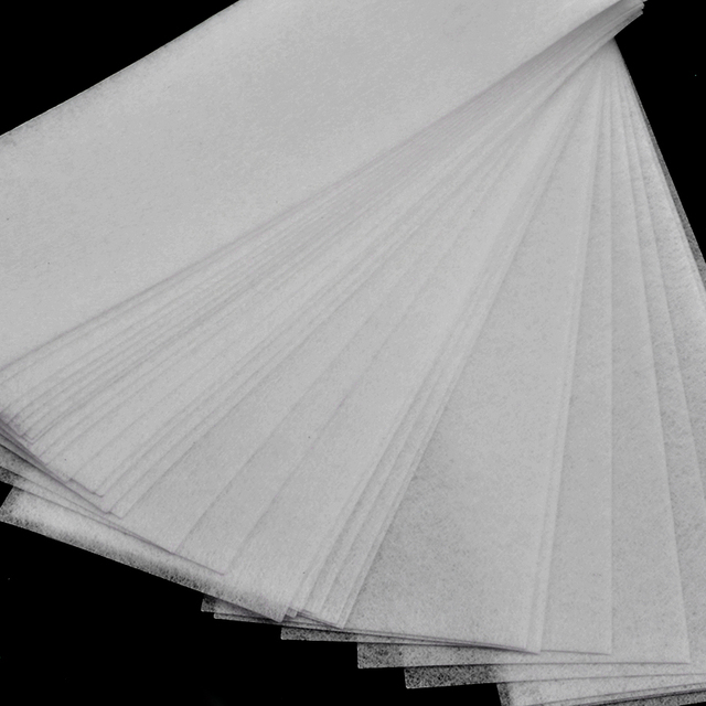100pcs Removal Nonwoven Body Cloth Hair Remove Wax Paper Rolls High Quality Hair Removal Epilator Wax Strip Paper 5