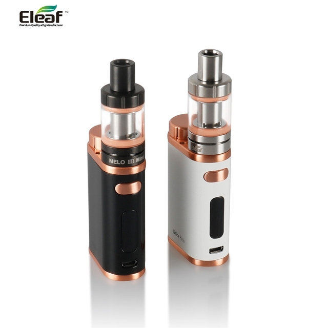 US $28 0 |Original Eleaf iStick Pico 75W TC Kit Eleaf iStick Pico Mod Box +  MELO 3 Mini Atomizer Tank Top fill 2 0ml Capacity vaporizer-in Electronic