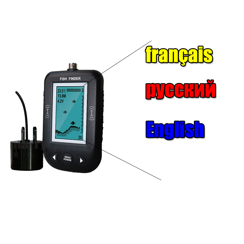 Dogfish Fish Finder | Erchang Wired Fish Finder Echo Sounder Fishing Alarm Electronic Bite