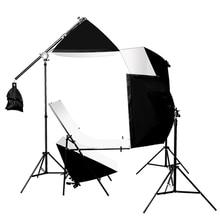 Photography Photo Studio 60x100cm Shooting Table Four Soft box Set Lighting Kit Photo The studio set photography table KIT CD50