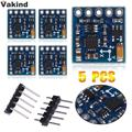 5Pcs/lot GY-271 HMC5883L Digital Compass Module 3-Axis Magnetic Sensor Module With 5 pcs Straight Pin and 5 pcs Curved Pin