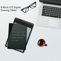 8.8Inch LCD Writing Tablet Digital Drawing Tablet Handwriting Pads Portable Electronic Tablet Board Can be partially deleted