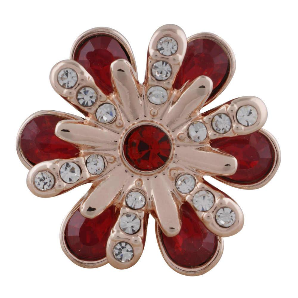 """באיכות גבוהה רוז זהב 18 מ""""מ 20 מ""""מ הצמד חרוזים fit מתכת קריסטל צלב תכשיטי fit נשים קסם מצליפה תכשיטים צמידים & צמידים"""