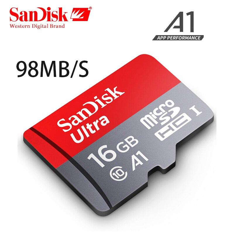 SanDisk Ultra Speicherkarte 64 GB 32 16 MicroSDHC MicroSDXC UHS I 128 Micro Sd Karte Class10 TransFLash TF Fur Smartphone In