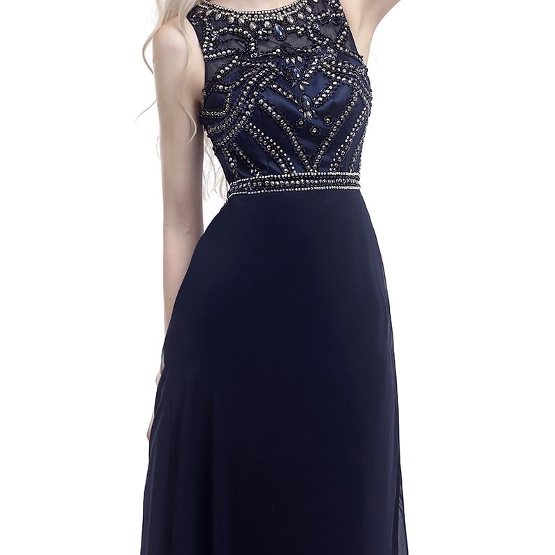 Forevergracedress Aktuella bilder Navy Blue Evening Dress En Line - Särskilda tillfällen klänningar - Foto 4