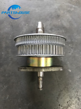 Free shipping 1Pcs Original used Spindle Main shaft 019-91228 for Riso GR2750 3750 1750 1700 FR2950 3950 MAIN PULLEY