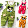 Baby pants New Spring autumn baby clothing infant boys girls  overalls cartoon trousers kids jumpsuit corduroy bib pants
