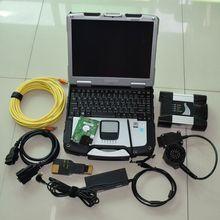 Для bmw сканирующий инструмент для bmw icom next Диагностика с программным обеспечением hdd 500gb expert mod компьютер cf30 ram 4g windows7 Все кабели полные