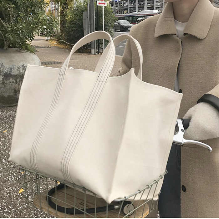 2019 Luxury Brand Bag Fashion Canvas Bags Shopping Handbags Lady Women Girl Large Size Handbag Brands Casual Tote Shoulder