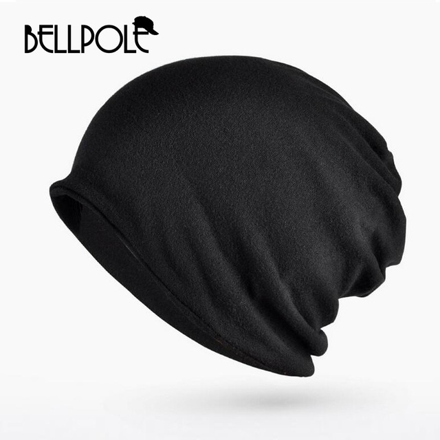03ac5045953 2018 brand autumn Winter Casual Scarf Hat caps Warm Baggy Thickening Knitted  Hat for men women cotton Knitted Skullies Beani