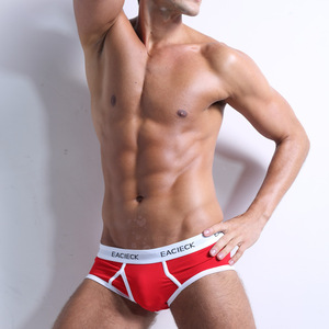 Cotton Briefs Men Seamless Mens Underwear Briefs XXXL Underpants Sexy Man Open Penis Hole Intimate Lingerie Pouch Panties Male(China)