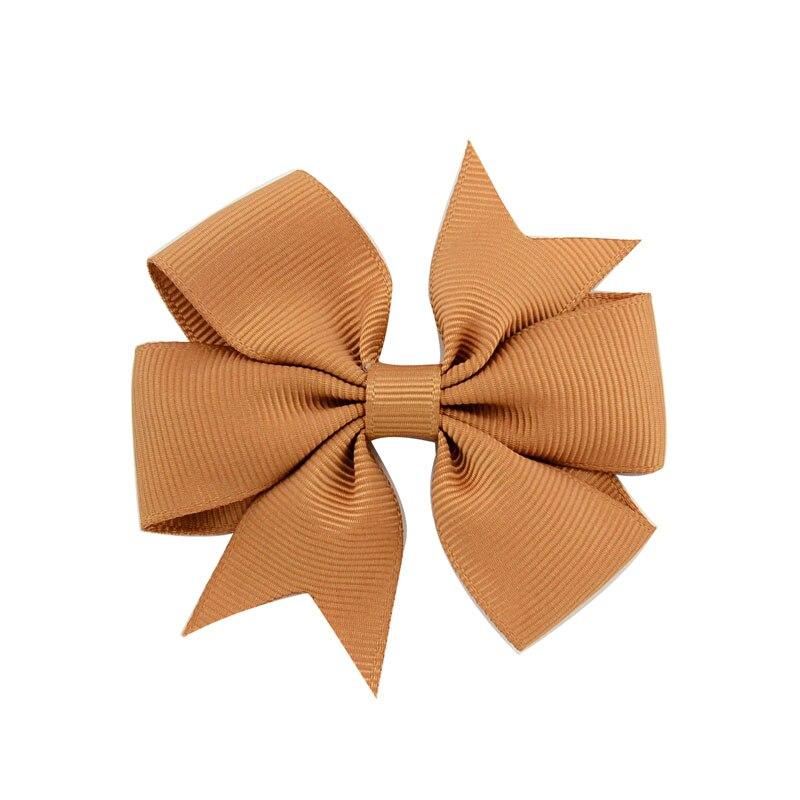 1 шт цвета сплошная корсажная лента банты заколки шпилька девушка бант для волос, бутик заколка для волос Головные уборы Детские аксессуары для волос 564 - Цвет: 2