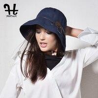 FURTALK Kadınlar & Erkekler için Kova Şapka Balıkçılık Plaj Pamuk Şapka Yaz Şapka Kadınlar için Moda Tasarım Katlanabilir Kenarlı